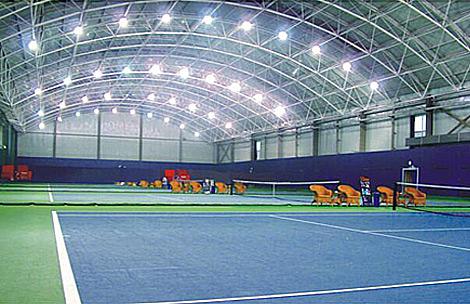 LED lights for sports halls